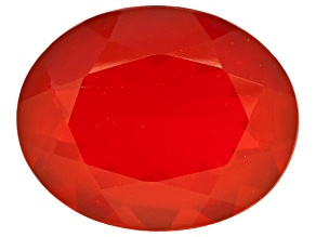 Red Fire Opal 10x8mm Oval 1.75ct