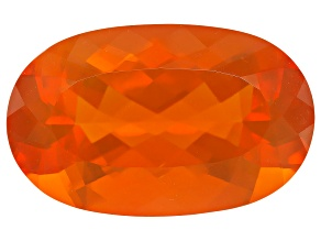 Brasa Color Fire Opal 24x15mm Oval 16.37ct