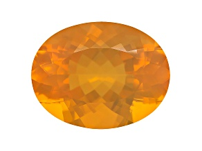 Honey Color Fire Opal 23.36x18.02mm 20.24ct