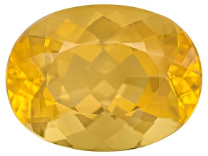 Yellow Fire Opal 16x12mm Oval 6.00ct