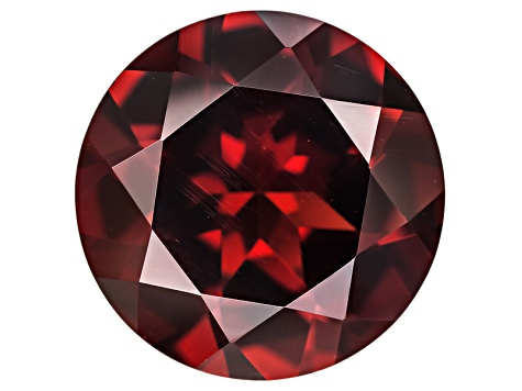 Red Mozambique Garnet   12mm Round 6.50ct