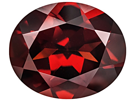 Red Garnet 12x10mm Oval 4.50ct