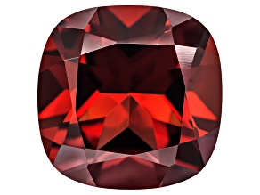 Red Garnet 10mm Square Cushion 4.25ct