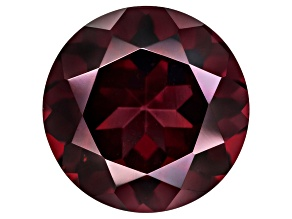 Red Mozambique Garnet 9mm Round 2.65ct