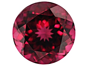 Raspberry Rhodolite Garnet 8.45ct 12mm Round