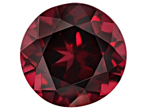 Raspberry Rhodolite Garnet 7.75ct 12mm Round