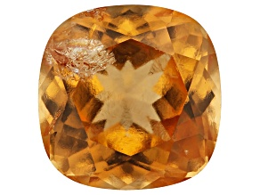 Imperial Hessonite Garnet 9.2mm Square Cushion 4.00ct