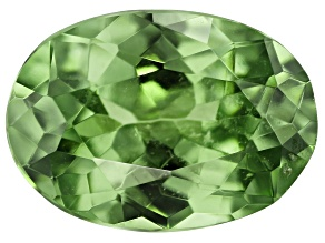 Demantoid Garnet 0.49ct 6x4mm Oval