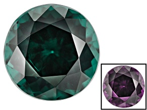 Blue Garnet Color Change 6.5mm Round 1.45ct