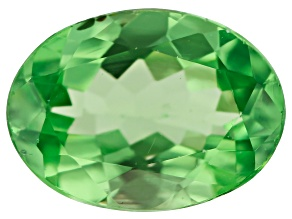 Tsavorite Garnet 7.3x5.4mm Oval 0.93ct