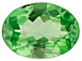 Mint Tsavorite 0.93ct 7.3x5.4mm Oval