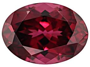 Raspberry Rhodolite Garnet 7.40ct 14x10mm Oval