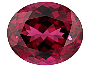 Raspberry Rhodolite Garnet 12x10mm Oval 6.25ct