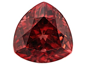 Malaya Garnet Color Shift 6.25ct 11mm Trillion