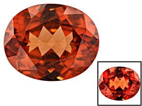Malaya Garnet Color Shift 3.76ct 11x9mm Oval