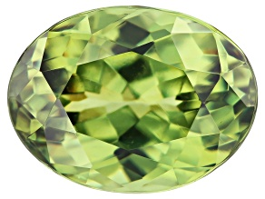 Demantoid Garnet 8x6mm Oval 1.63ct
