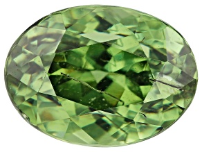 Demantoid Garnet 1.38ct 7.3x5.3mm Oval