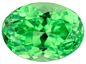 Mint Grossular Garnet 1.05ct 7x5mm Oval