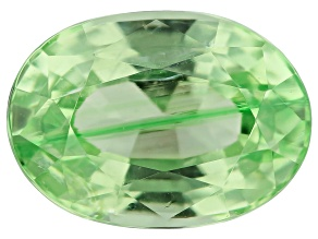 Mint Grossular Garnet 0.90ct 7x5mm Oval