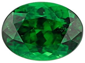 Tsavorite Garnet 7x5.2mm Oval 1.29ct