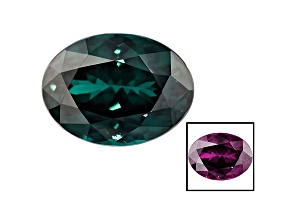 Blue Color Change Garnet 2.86ct 9.5x7mm Oval