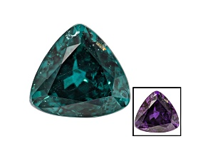 Blue Garnet Color Change 6.7x6.5mm Trillion 1.53ct