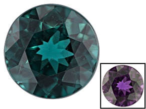 Blue Color Change Garnet 0.99ct 6mm Round