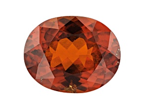 Hessonite Garnet 12.5x10mm Oval 5.35ct