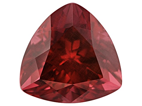 9.00ct Raspberry Rhodolite Garnet 12.5mm Triangle