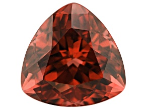 7.08ct Rhodolite Garnet 11.7mm Triangle