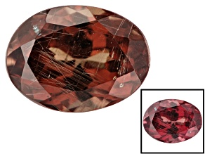 1.75ct min wt. Masasi Bordeaux Garnet ™ Color Shift 8x6mm Oval