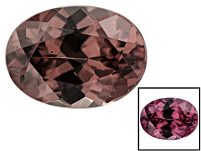 1.50ct min wt. Masasi Bordeaux Garnet ™ Color Shift 8x6mm Oval