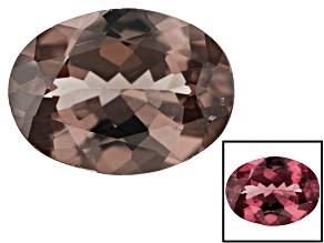 1.00ct min wt. Masasi Bordeaux Garnet ™ Color Shift 8x6mm Oval
