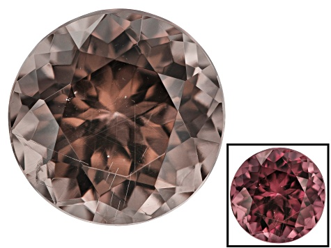 1.00ct min wt. Masasi Bordeaux Garnet ™ Color Shift 6mm Round