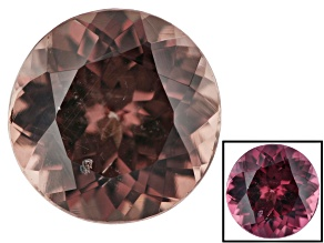 1.25ct min wt. Masasi Bordeaux Garnet ™ Color Shift 6.5mm Round