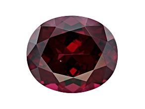 Rhodolite Garnet 14x12mm Oval 9.50ct