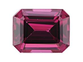 Rhodolite Garnet 9x7mm Emerald Cut 2.50ct