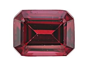 Rhodolite Garnet 9x7mm Emerald Cut 2.75ct