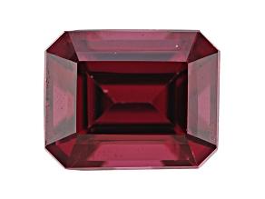 Rhodolite Garnet 10x8mm Emerald Cut 4.50ct