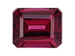 Rhodolite Garnet 11x9mm Emerald Cut 5.25ct