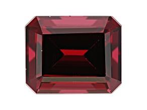 Rhodolite Garnet 11x9mm Emerald Cut 6.75ct