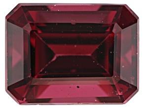 Rhodolite Garnet 8x6mm Emerald Cut 2.00ct