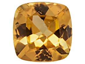 Golden Garnet 5mm Square Cushion .50ct