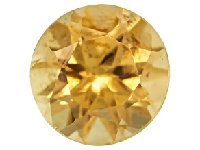 Canary Yellow Garnet 4mm Round .20ct