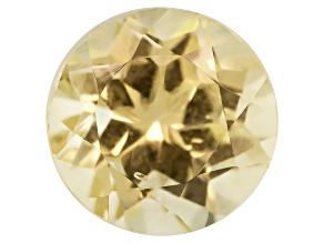 Canary Yellow Garnet 5mm Round .75ct
