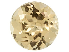 Canary Yellow Garnet 6mm Round .70ct