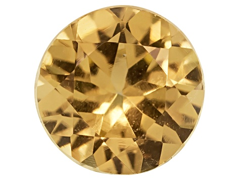 Golden Garnet 5mm Round .50ct