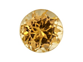 Golden Garnet 5mm Round .75ct