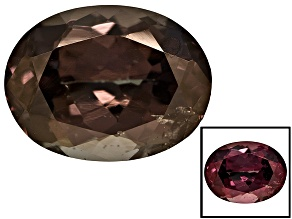 Garnet Color Change 9x7mm Oval 2.36ct