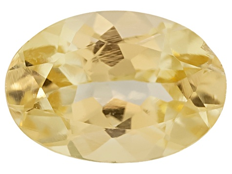 Canary Yellow Garnet Oval 0.50ct